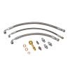 Oil & Water Braided Line Kit Suits Nissan S14, S15 / 200SX - Click for more info