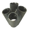 Manifold Merge Pipe Collector 4 into 1 - 32mm (Staggered) - Click for more info
