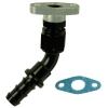 Oil Drain 45 Degree Swivel Kit GT25, GT30, GT35