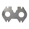 Exhaust Manifold Flange Mazda 13B Rotary - Click for more info