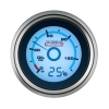 Redarc Single Oil Pressure Gauge (Optional Temperature Display) - Click for more info