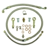 Oil & Water Braided Line Kit Nissan RB20,RB25,RB30
