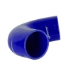 Silicone Hose Elbow 135 Degree 6 inch Leg Blue - Click for more info