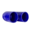 Silicone Hose Elbow 180 Degree 6 inch Leg Blue - Click for more info