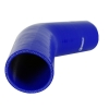 Silicone Hose Elbow 45 Degree 6 inch Leg Blue - Click for more info