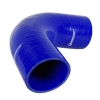 Silicone Hose Elbow 90 Degree 6 inch Leg Blue - Click for more info